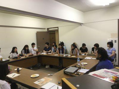 第4回「内なる国際化」研究会を開催しました。
