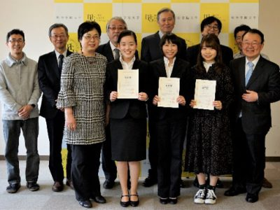 (日本語) 初めての「多文化共生ファシリテーター」に認定証が授与されました!