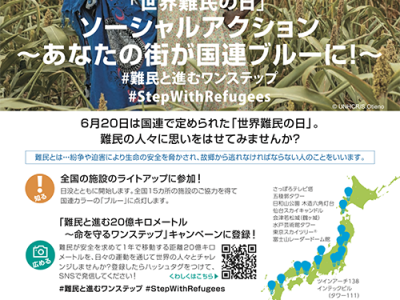 (日本語) 「世界難民の日」ソーシャル・アクション